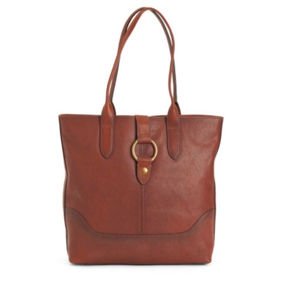 Frye Handbags - New Frye Cognac Leather Tote Bag $428